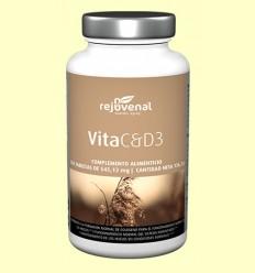 Vita C&D3 - Rejuvenal - 250 tabletas