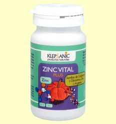 Zinc Vital Plus - Klepsanic - 60 cápsulas