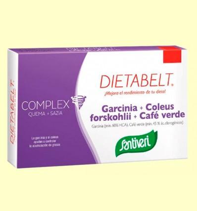 Dietabelt Garcinia + Coleus + Café Verde - Santiveri - 48 comprimidos