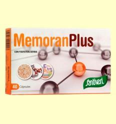 Memoran Plus - Santiveri - 40 cápsulas