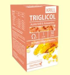 Triglicol Krill - Dietmed - 30 cápsulas