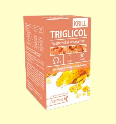 Triglicol Krill - Dietmed - 30 cápsulas *