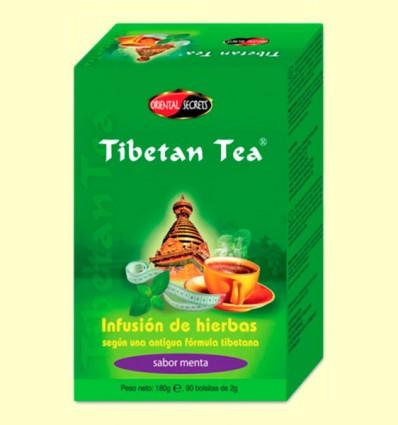 Tibetan Tea - Infusión de hierbas - Sabor Menta - 90 bolsitas