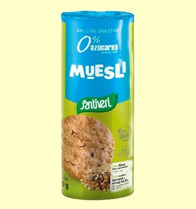 Galletas Digestive Muesli - Santiveri - 190 gramos