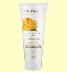 Gel de Baño de Naranja Amarga Bio - Delidea - 200 ml