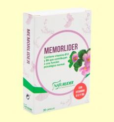 Memorlíder - Memoria - Naturlider - 30 cápsulas