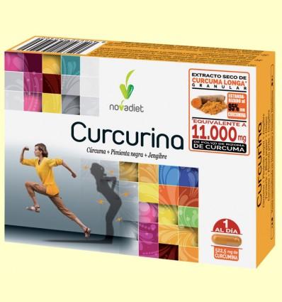 Curcurina - Novadiet - 30 cápsulas
