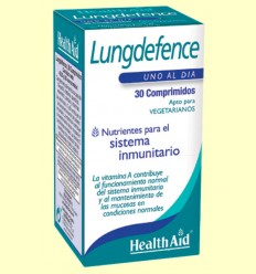 Lungdefence - Health Aid - 30 comprimidos