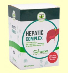 Hepatic Complex - Naturlider - 60 cápsulas