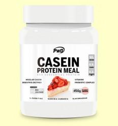 Casein Protein Tarta de Queso con Fresa - PWD - 450 gramos