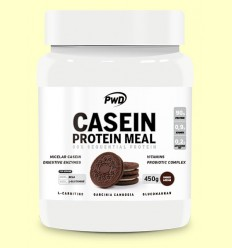 Casein Protein Cookies & Cream - PWD - 450 gramos