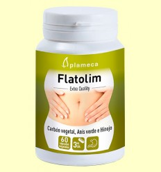 Flatolim - Gases y digestiones pesadas - Plameca - 60 cápsulas