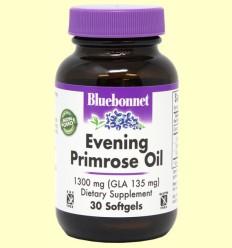 Aceite de Onagra 1300 mg - Bluebonnet - 30 cápsulas blandas