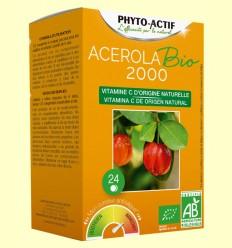 Acerola Bio 2000 - Phyto Actif - 24 comprimidos