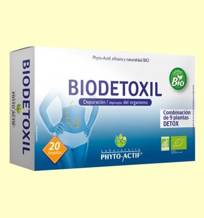 Biodetoxil Bio Depuración del Organismo - Phyto Actif - 20 ampollas *