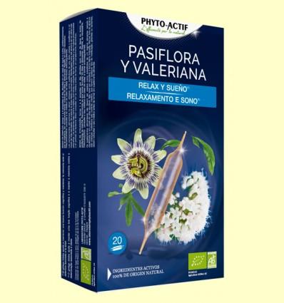 Pasiflora y Valeriana Eco - Phyto Actif - 20 ampollas