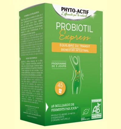 Probiotil Express Bio - Phyto Actif - 45 cápsulas