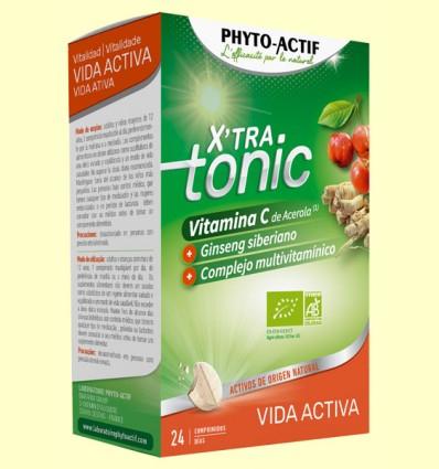 X'Tra Tonic Vida Activa - Phyto Actif - 24 comprimidos