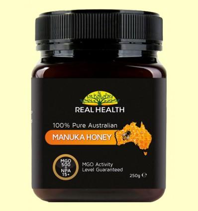 Miel de Manuka MGO 500 - Real Health - 250 gramos
