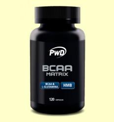 BCAA Matrix - PWD - 120 cápsulas
