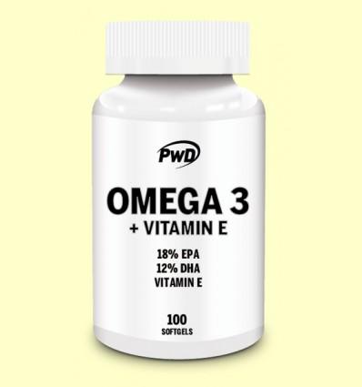 Omega 3 con Vitamina E - PWD - 100 perlas