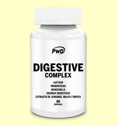 Digestive Complex - PWD - 60 cápsulas