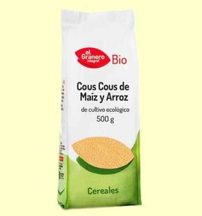 Cous Cous de Maíz y Arroz Bio - El Granero - 500 gramos