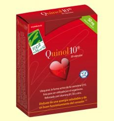 Quinol10 50 mg - Coenzima Q-10 - 100% Natural - 30 cápsulas