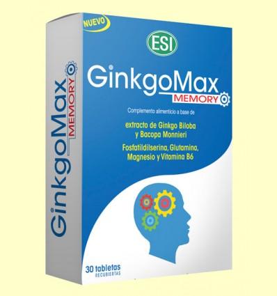 GinkgoMax Memory - Laboratorios ESI - 30 tabletas