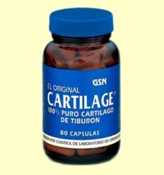 Cartilage Original - GSN Laboratorios - 80 cápsulas
