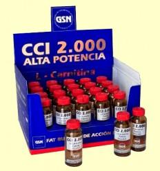 CCI 2000 - Quemador de Grasa - GSN Laboratorios - 20 viales