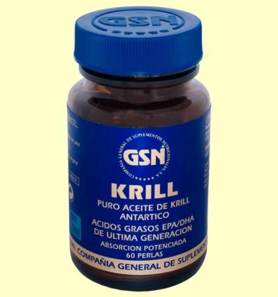 Krill - GSN Laboratorios - 60 perlas