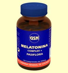 Melatonina Complex - GSN Laboratorios - 120 comprimidos
