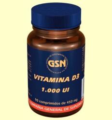 Vitamina D3 - GSN Laboratorios - 90 comprimidos
