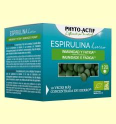 Espirulina Hierro Bio - Phyto Actif - 120 comprimidos