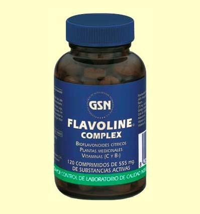 Flavoline Complex - GSN Laboratorios - 120 comprimidos