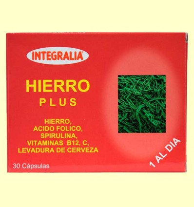 Hierro Plus - Integralia - 30 cápsulas