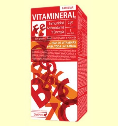 Vitamineral Familiar - DietMed - 250 ml