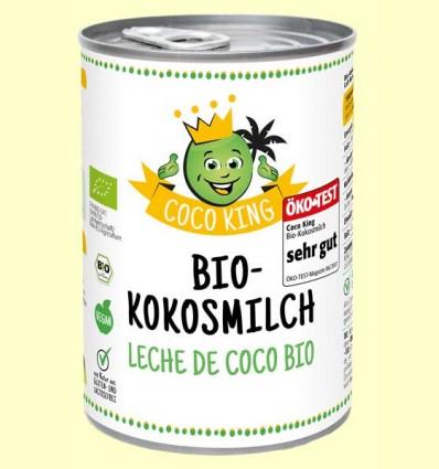 Leche de Coco Bio Coco King - Dr Goerg - 400 ml