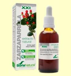 Zarzaparrilla Fórmula XXI - Extracto de Glicerina Vegetal - Soria Natural - 50 ml