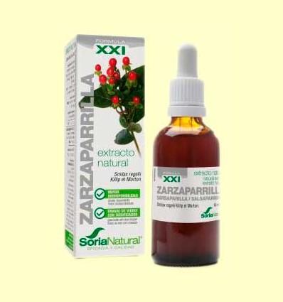 Zarzaparrilla Extracto S XXI - Soria Natural - 50 ml