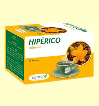Hipérico Infusión - DietMed - 20 bolsitas