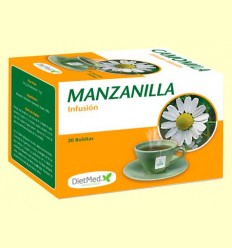 Manzanilla Infusión - DietMed - 20 bolsitas