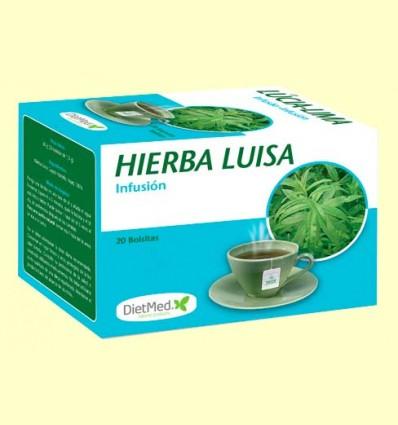 Hierba Luisa Infusión - DietMed - 20 bolsitas