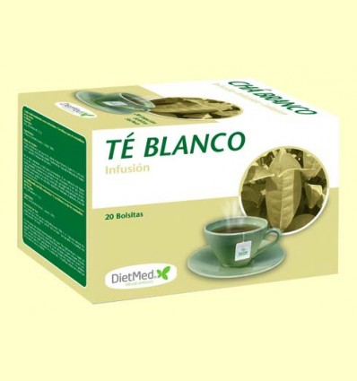 Té Blanco - DietMed - 20 bolsitas