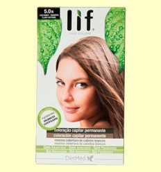 Tinte Cabello Lif Hair Colors 5.0 N - Marrón Natural - DietMed - 1 kit