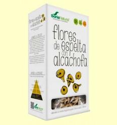 Flores de Espelta con Alcachofa - Pasta Ecológica - Soria Natural - 250 gramos
