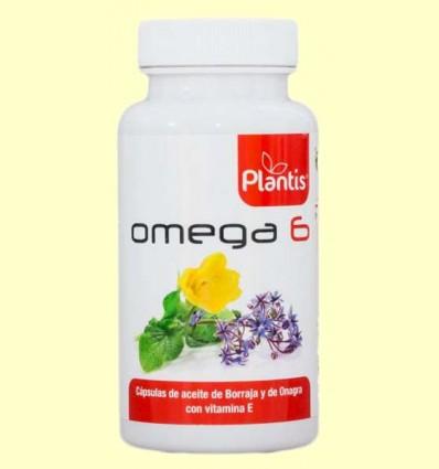 Omega 6 - Aceite de Onagra y Borraja con Vitamina E - Plantis - 100 cápsulas
