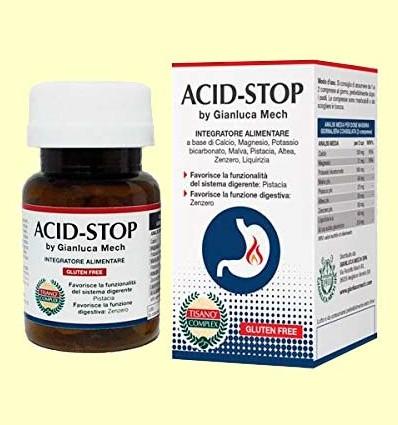 Acid-Stop Tisano Complex - Gianluca Mech - 30 comprimidos