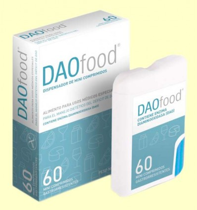 DAOfood - Sistema Digestivo - DR Healthcare - 60 minicomprimidos